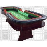"120"" 10 foot Craps Table with Extra Features"