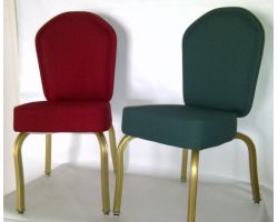 Arched back Casino Poker Chairs w/ Casters are optional