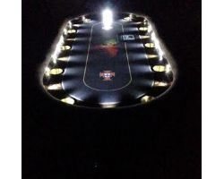 "96"" Custom poker table along with Replaceable playing surface is standard"