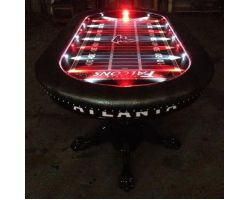 "96"" Custom poker table, Custom felt with your choice of colors"